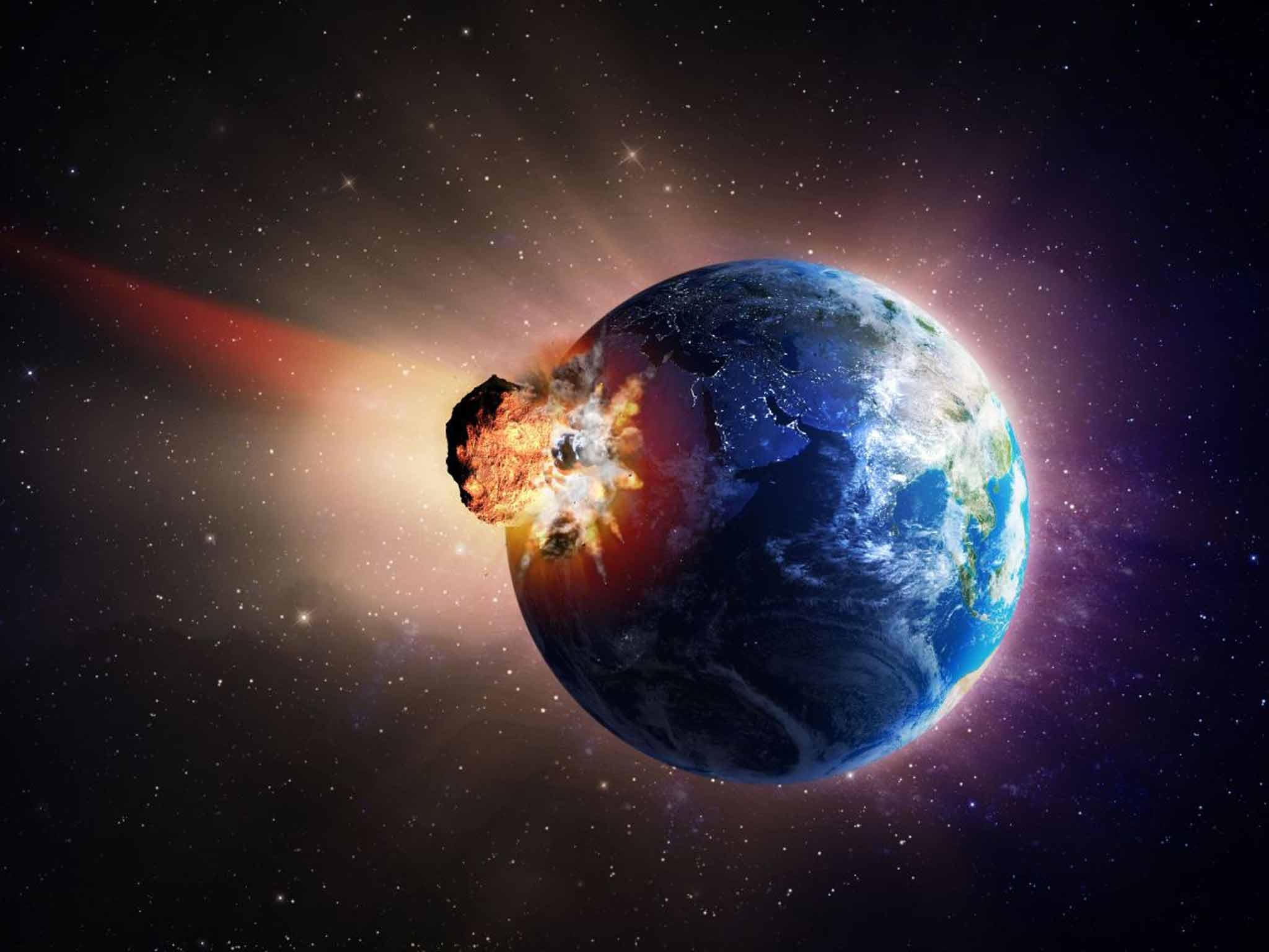 nasa comet collision - HD1600×900